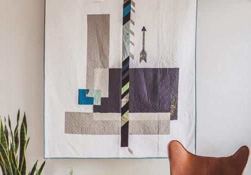 Modern Arrow Quilt